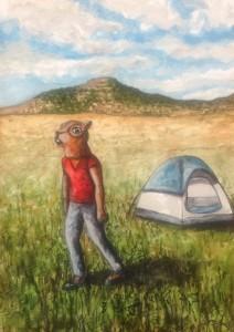 squirrel- tent